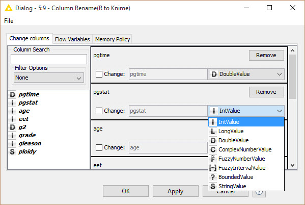 R-Example Column Rename
