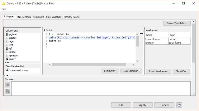 R-Example Matrix Plot
